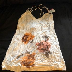 BNWT Floral swim cover up